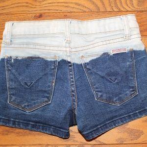 HUDSON Shorts Girls Size 10 Jean Shiorts Denim
